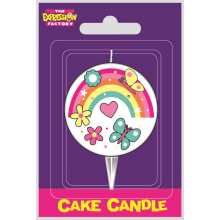 Laserprint Candles Rainbow