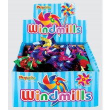 Foil Windmills Assorted