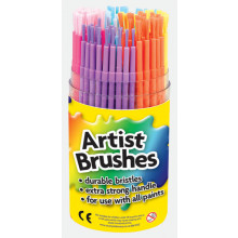 Artist Brushes Assorted Tub
