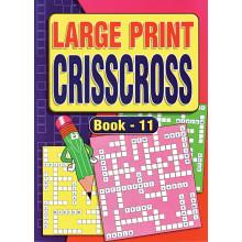 A4 Large Print Crisscross 72pg 4 Asst