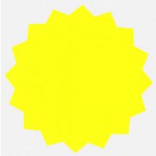 18 Fluorescent Stars 128mm