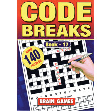A5 Codebreaks Puzzle 160 Pages 4 Asst