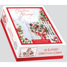 XD00609 Box 20 Christmas Blessings Cards