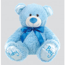 Baby Boy Bear - Blue (20cm/8in)