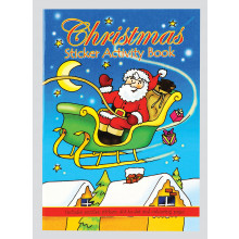 XD05204 A6 Christmas Sticker Book