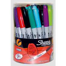 Sharpie Bright Fine Pens Assorted Tub
