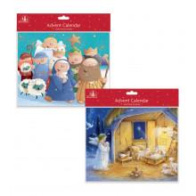 X1602 Cute/Nativity Advent Calendar