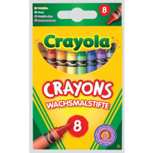 Crayola Crayons Standard Washable 8s