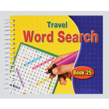 Travel Wordsearch Book 180 Pages 4 Asstd