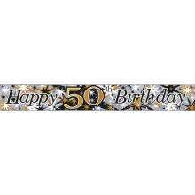 2.5m Party Banner Age 50 Male