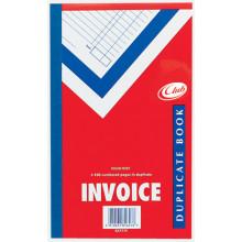"""Club Duplicate Invoice Book 8""""x5"""""""