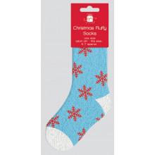 Christmas Adult Fluffy Socks Size 5-7
