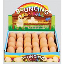 "Bouncing Egg Balls 4.5cm/1.75"""