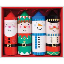 XD05503 Crackers Pull Pop Santa+Friends