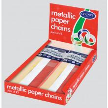 XD03405 Paper Chains Metallic