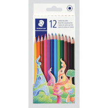 S7801 12x Full Wood Free Col Pencils