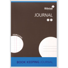 Silvine Book Keeping Journal Double Cash