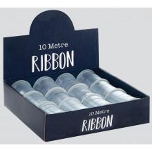 Silver Ribbon 1cmx10M