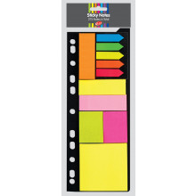 Sticky Notes Multi Pack 275 Assorted