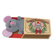 Christmas Mouse In Matchbox