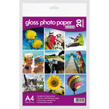 A4 Gloss Photo Paper 230gsm 20 Sheets