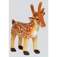 36cm Brown Standing Deer
