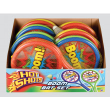 Hot Shots Boom Bat Set (2 Players) Asst