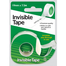 Invisible Tape 19mmx7.5m with Dispenser