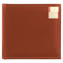 Stitched Leatherette Photo Album 200 pkt