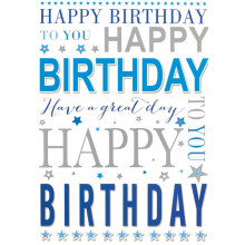 S13343 Cards Male Birthday