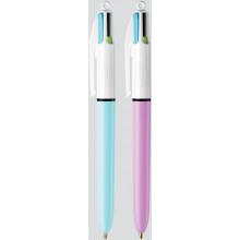Bic 4-Colour Pens Pastel Colours Carded