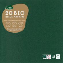 X5605 Dark Green Napkins 33cm 3 Ply 20's