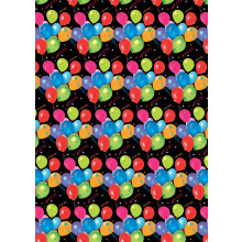 Flat Gift Wrap Balloons GW2584