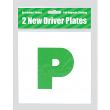 Green P Plates Magnetic 2s
