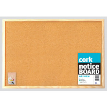 Cork Notice Board 60x40cm