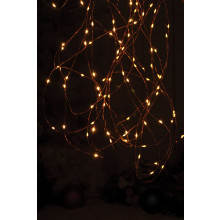 C2906 25 LED Amber Dewdrop Lights