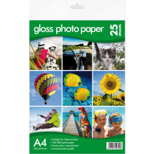 A4 Gloss Photo Paper 160gsm 25 Sheets