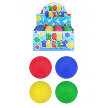 Rubber Dog Ball Display Assorted