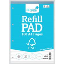 FSC A4 Refill Pad Feint/Margin 160 Pages
