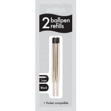 Black Ballpen Refills 2s