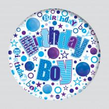 Birthday Boy 150mm Large Badge