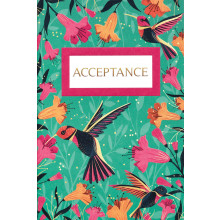 Open Acceptance Cards Hummingbird IW306