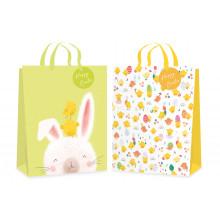 Easter Gift Bag Chick & Rabbit Medium