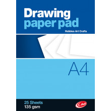 Club A4 Drawing Paper Pad 25pgs 135gsm