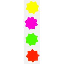 60 Fluorescent Stars 60mm