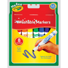 Crayola My 1st Washable Markers 8s