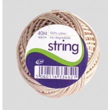 Cotton String Balls 40m Approx