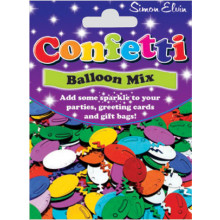 Confetti Balloon Mix CON816