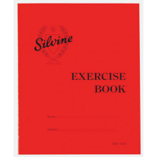 Silvine Exercise Book Squared 130X 40pgs