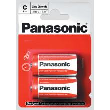 Panasonic C Zinc Carbon Batteries Pack 2